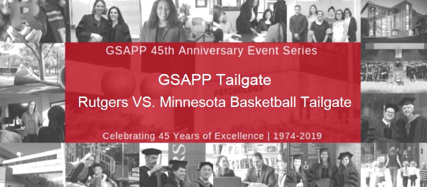 GSAPP Tailgate Rutgers VS. Minnesota Basketball Tailgate