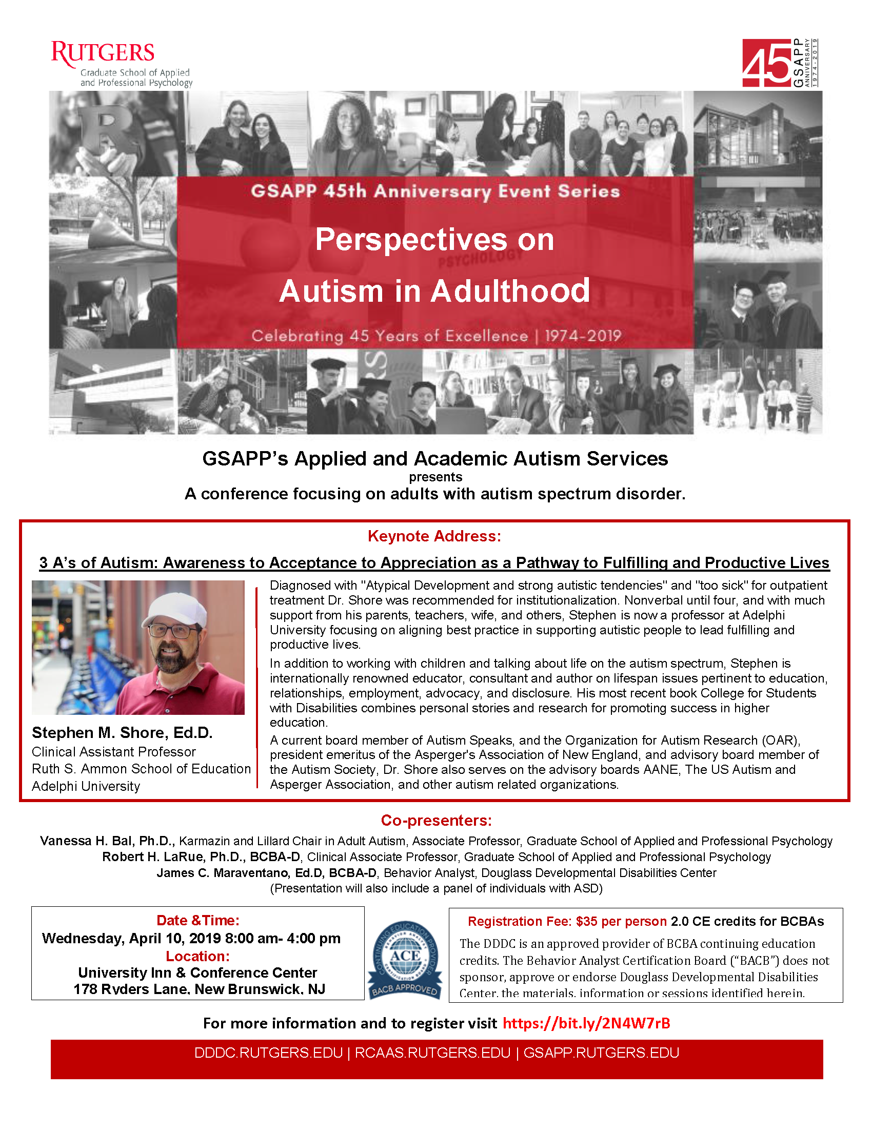 Aane Conference At Lasell College >> Perspectives On Autism In Adulthood Gsapp