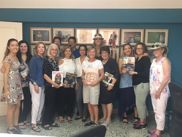 Linda Tamm travelled to Cuba with a women's entrepreneurial group.