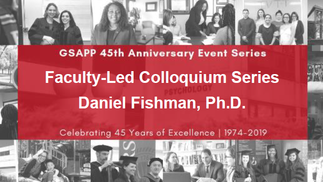 Cover_FACULTY LED COLLOQUIUM SERIES – DAN FISHMAN