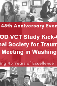 PTSD-AOD VCT Study Kick-Off at the International Society for Traumatic Stress Studies Meeting in Washington, D.C.